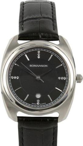 Купить Наручные часы Romanson TL1269LBBK по доступной цене