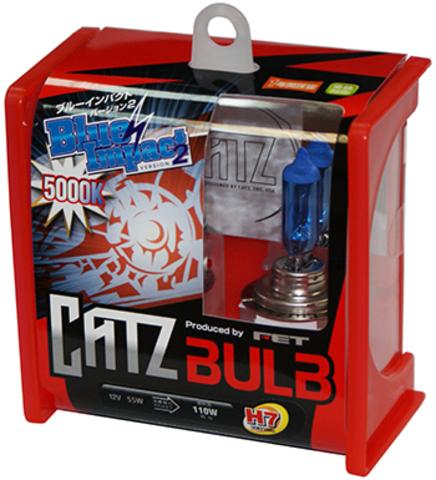 Газонаполненные лампы CATZ H7 CB710R (5000К)