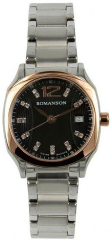 Купить Наручные часы Romanson TL1271LJBK по доступной цене