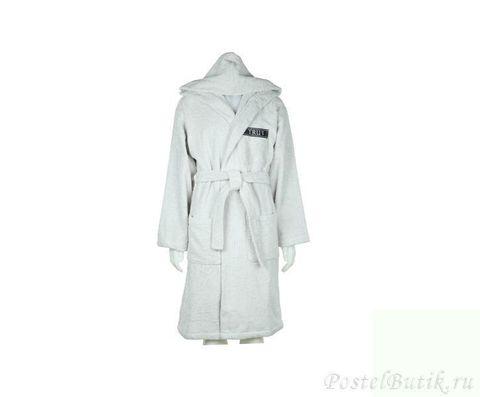 Элитный махровый халат Golf серый от Trussardi