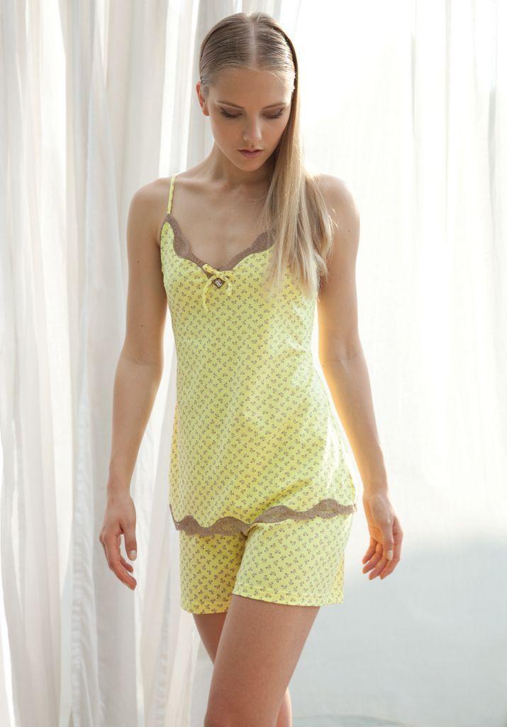 Летняя женская пижама Rebecca & Bros