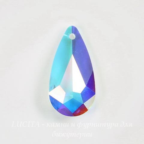 6100 Подвеска Сваровски Капля Crystal AB (24х12 мм) ()