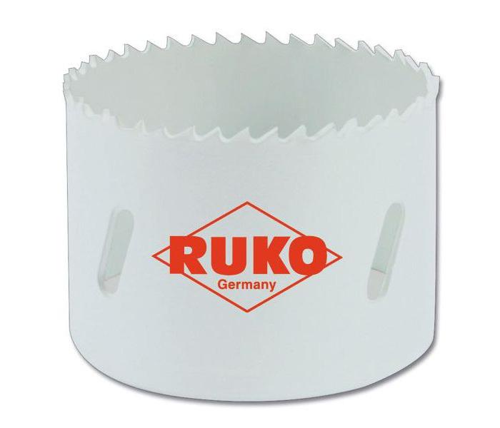 Коронка биметаллическая Ruko 126140 HSS Co диаметр 140 мм 35525