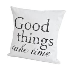 Подушка декоративная 50x50 Casual Avenue Script Good Things