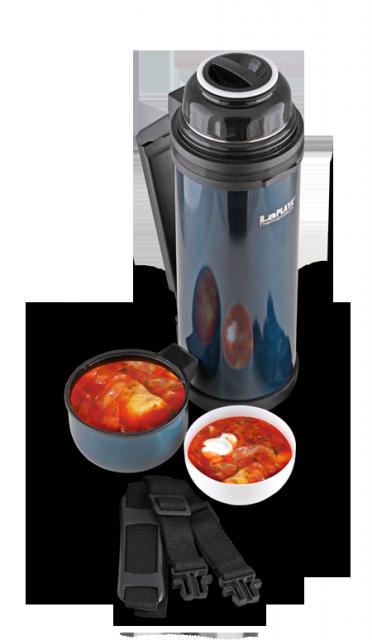 Термос универсальный (для еды и напитков) La Playa Traditional (0.8 литра) синий