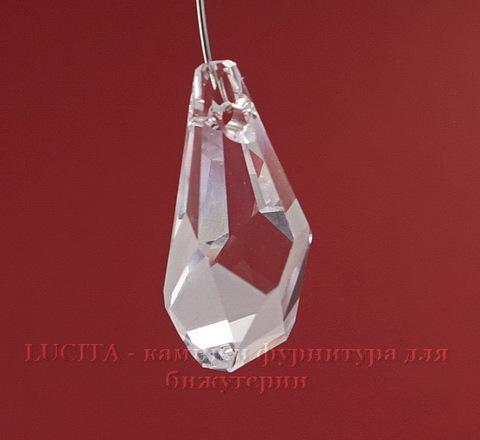 6015 Подвеска Сваровски Polygon Drop Crystal (17 мм)