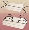 Набор для фиксации к кровати - Bed Bindings Restraint Kit