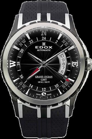 Купить Наручные часы Edox AUTOMATIC GMT GRAND OCEAN WATCH 93004 357N NIN по доступной цене