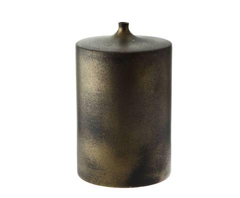 Элитная ваза декоративная Bronze Сylinder средняя от S. Bernardo