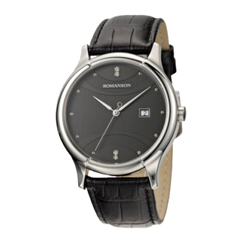 Купить Наручные часы Romanson TL1213LWBK по доступной цене