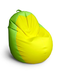 Кресло груша Салатово-Желтое