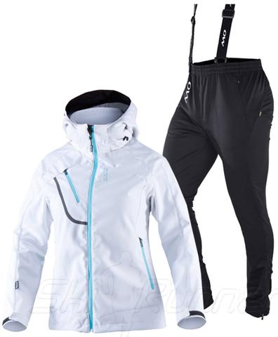 Лыжный утепленный костюм 8848 Altitude Mica Samuel White женский