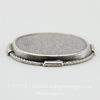 "Сеттинг - основа ""Плетенка"" для камеи или кабошона 22х17 мм (оксид серебра) ()"