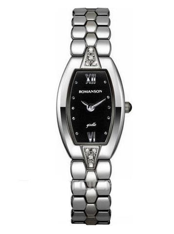 Купить Наручные часы Romanson RM0351QLWBK по доступной цене