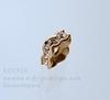 77604 Бусина - рондель Сваровски Crystal (цвет - античное золото) 5х2 мм ()