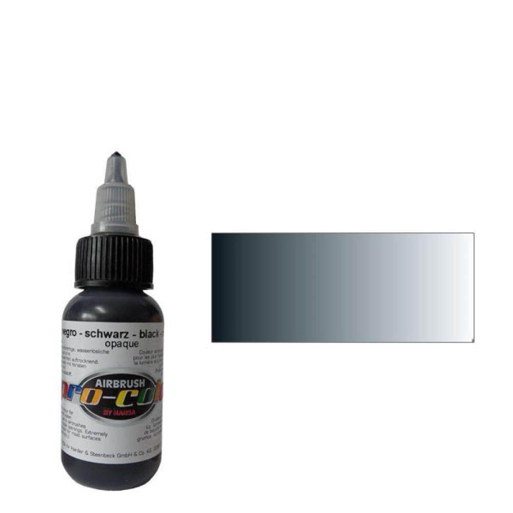 60024 Краска для аэрографии Pro-Color Black (ЧЕРНЫЙ) 30мл. укрывистый