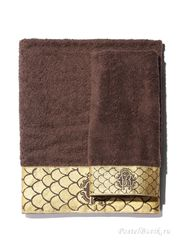 Набор полотенец 2 шт Roberto Cavalli Gold коричневый