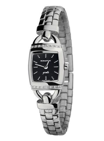 Купить Наручные часы Romanson RM9237QLWBK по доступной цене