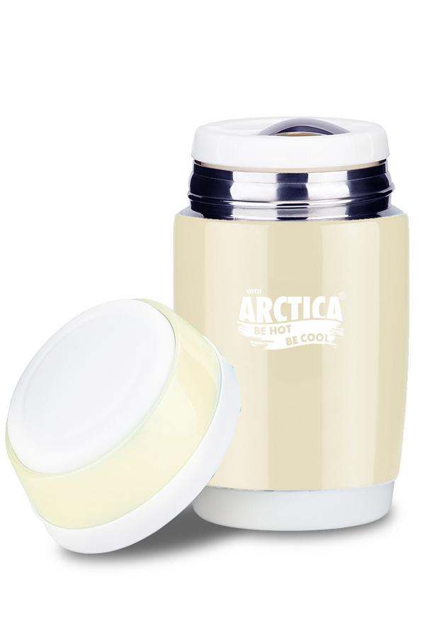 Термос для еды Арктика (0,58 л.) бежевый
