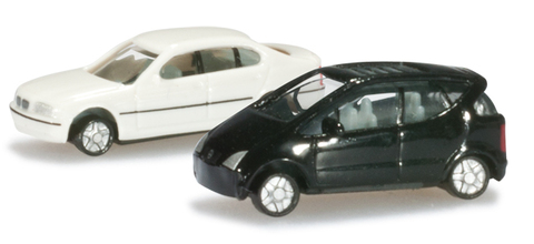 065115-002 HERPA (N) BMW E46 и Мерседес A-класс