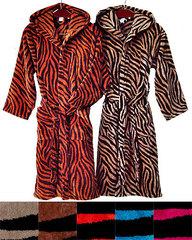 Элитный халат Zebra от Emanuel Ungaro