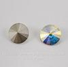 1122 Rivoli Ювелирные стразы Сваровски Crystal AB (SS47) 10,54-10,9 мм