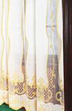 Штора - Лён с вышивкой (Классика)