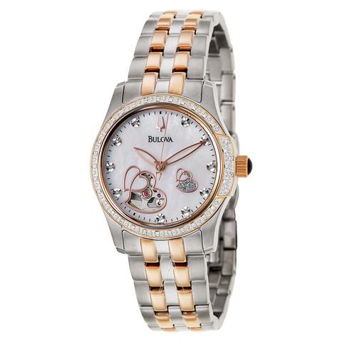 Купить Наручные часы Bulova Diamonds 98P114 по доступной цене
