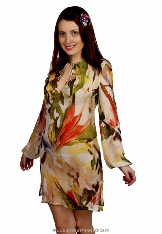 Платье для пляжа Argentovivo (Летняя и пляжная одежда)