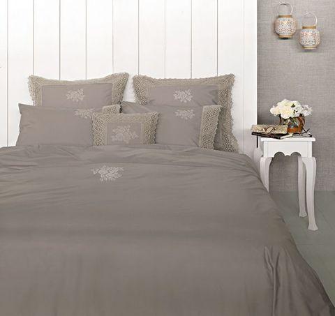 Постельное белье 1.5 спальное Luxberry Rose молочный шоколад
