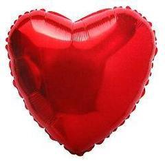 F 32 Сердца Красный