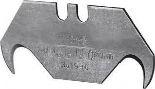 Лезвие с крючком  100шт Stanley 1-11-983