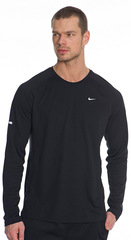 Рубашка Nike Miler Ls Uv Top