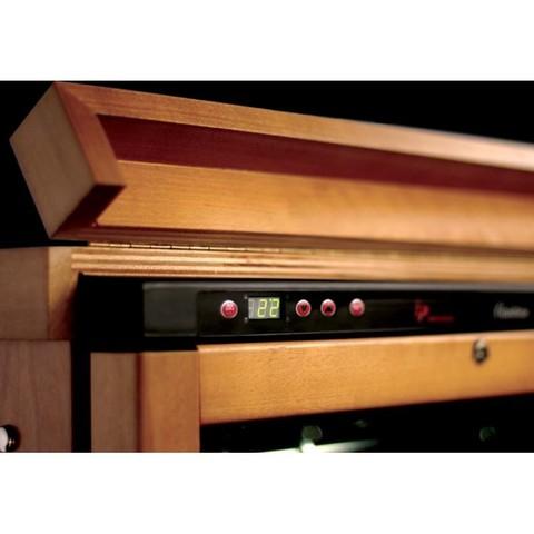 Винный шкаф IP Industrie CEX 151 LVU (венге)
