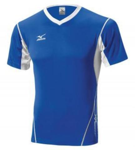 Футболка волейбольная Mizuno Premium Top blue