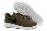 Кроссовки мужские Nike Roshe Run Material Brown White