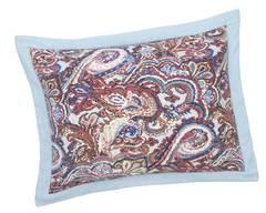 Элитная наволочка декоративная шенилловая Maharani sky 202 hellblau от Feiler