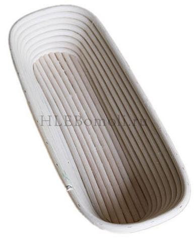 Корзинка  для расстойки теста из ротанга (багет)