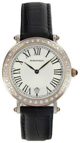 Купить Наручные часы Romanson RL1253QLJWH по доступной цене