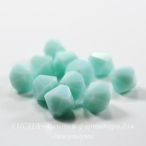 5328 Бусина - биконус Сваровски Mint Alabaster 8 мм ()