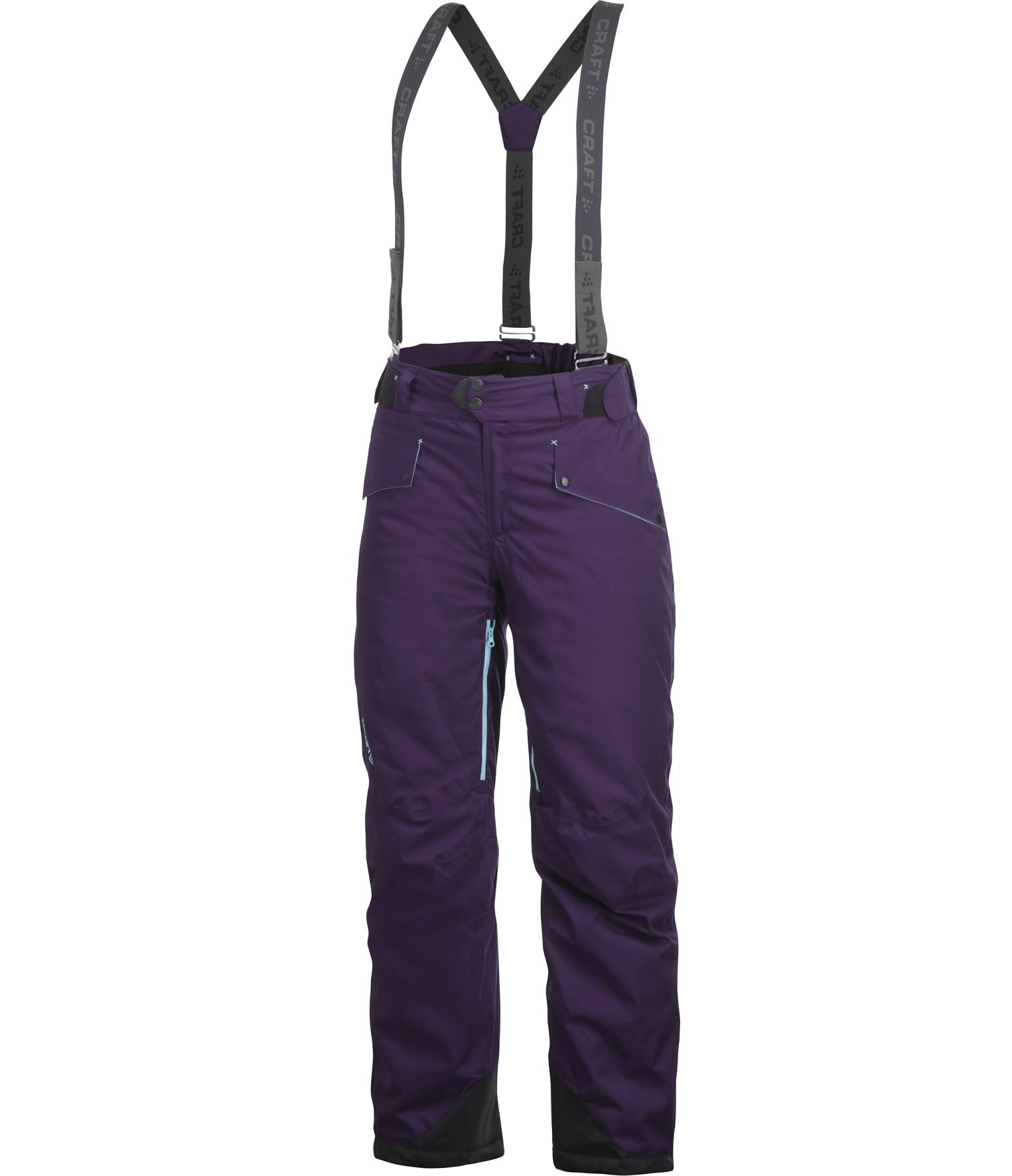 Брюки Craft Warm женские фиолетовые 1901763-2399