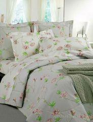 Постельное белье 2 спальное евро Mirabello Azaleа розовое