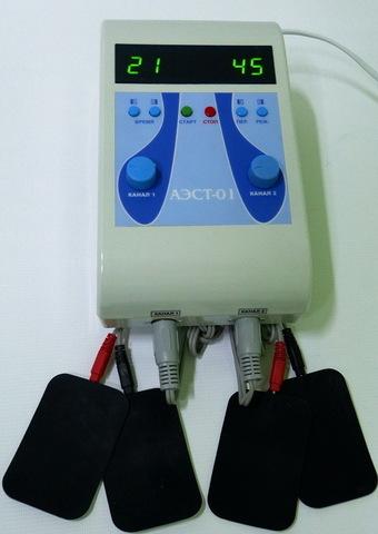 Аппарат для миостимуляции АЭСТ 01-2