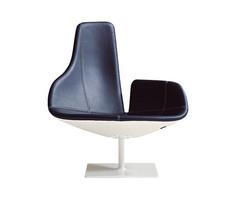 кресло fjord armchair ( кожа)