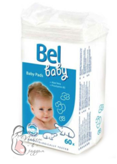 Hartmann. Детские ватные подушечки Bel baby Pads, 60 шт