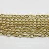 Винтажная цепь (звено 4х3 мм) (оксид латуни), 10 cм ()