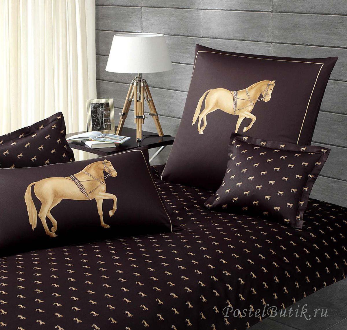 Для сна Элитная наволочка Equus антрацит от Elegante elitnaya-navolochka-equus-antratsit-ot-elegante-germaniya.jpg