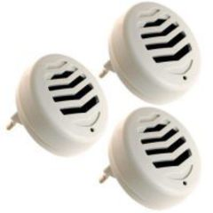 Комплект из 3 ультразвуковых отпугивателей грызунов и насекомых «Weitech WK3523»
