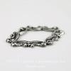 Винтажный декоративный элемент - рамка 29х19 мм (оксид серебра) ()