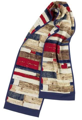 Элитный плед-шарф шенилловый Vintage Wood от Feiler